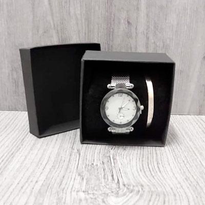 Kit Relógio e Bracelete | Aster Bijus e Acessórios