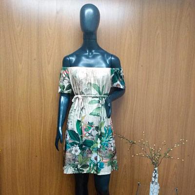 Vestido Estampado Ciganinha | Pandora Stores