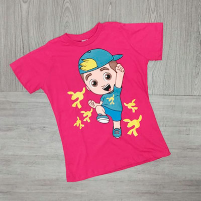 Blusa Estampada Infantil | Pé de Vento Moda Infantil