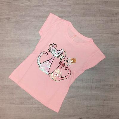 Blusa Infantil Gatinhas | Pé de Vento Moda Infantil