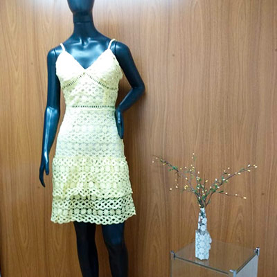 Vestido Forrado Alcinha | Maria Morena