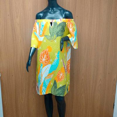 Vestido Ciganinha Estampado | Maria Morena