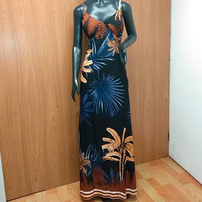 Vestido Longo Estampado | Rosa Marra