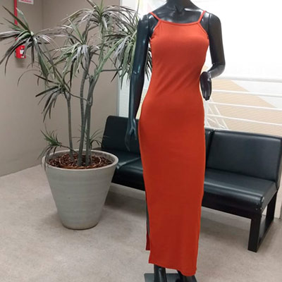 Vestido Longo Canelado | Maria Morena