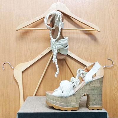 Sandália Amarração Corda | Gui Calçados