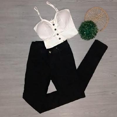 Calça Feminina Preta | Amorim Modas