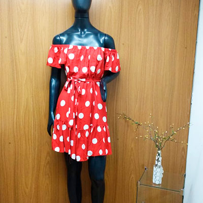 Vestido Ciganinha Poá | Mania de Ser Bonita
