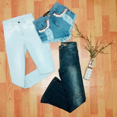 Peças Jeans Variadas | La Donna