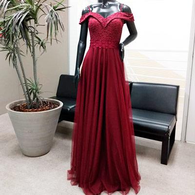 Vestido Longo Festa | MK Modas