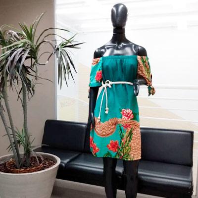 Vestido Estampado Ciganinha | Boutique da Lila