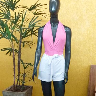 Conjunto Body e Short | Paulistinha Modas