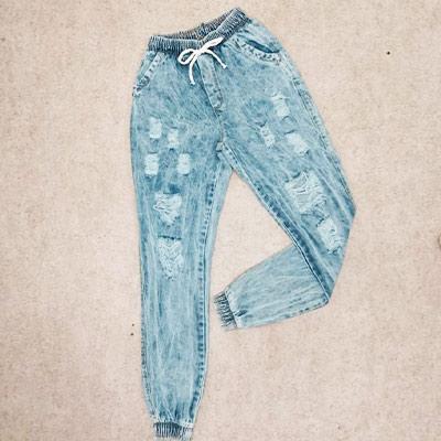 Calça Jeans Jogger | Garota Urbana