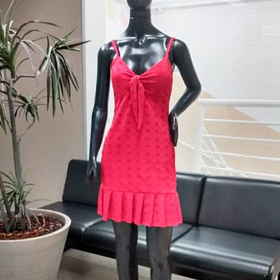 Vestido Curto Malha | Xicosa
