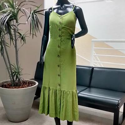 Vestido Longo Color | Cláudia Modas