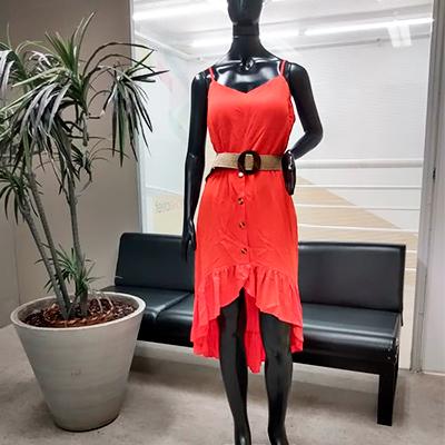 Vestido Mullet Color | Espaço Valentina