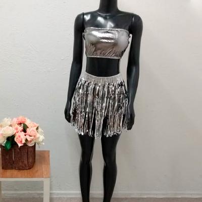 Conjunto Metalizado Carnaval | Flor de Lis