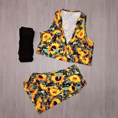 Conjunto Esporte Flower | Boldness Moda Fitness