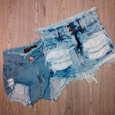 Short Jeans Desfiado | Honraria Jeans
