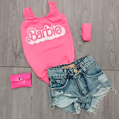 Body Infantil Barbie | By Xinhos