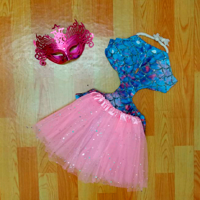 Conjunto Body e Saia | Barbie Girl Store