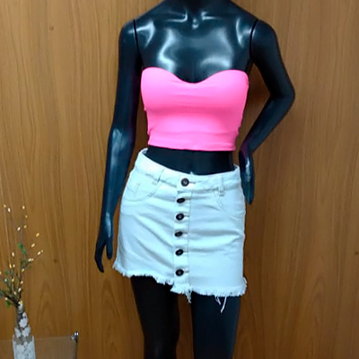 Conjunto Top e Saia | Barbie Girl Store