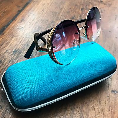 Óculos de Sol Degradê   Isabela Fashion