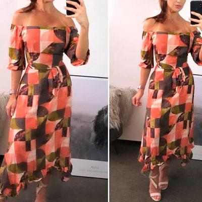 Vestido Midi Ciganinha | Ateliê da Larisse