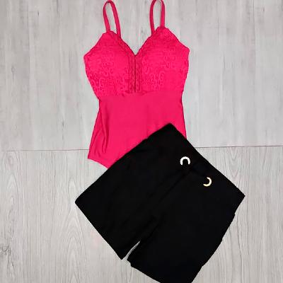 Body Alcinha Pink   Diamond Modas