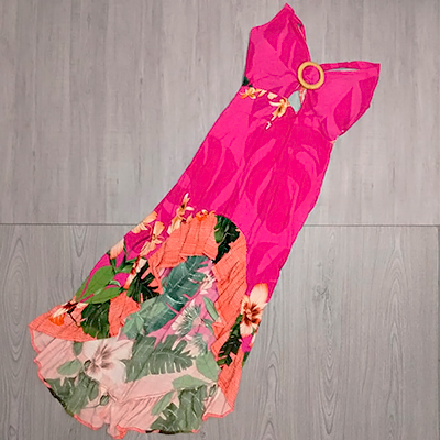 Vestido Mullet Pink | Ana Lú