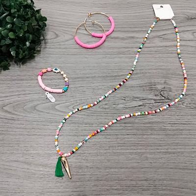 Conjunto Bijuterias Color | RosaMell Semijoias
