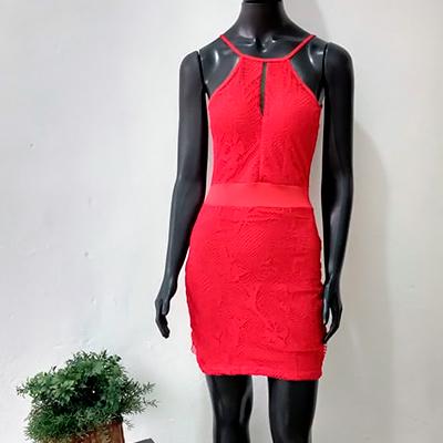 Vestido Curto Alcinha | Isadora Modas