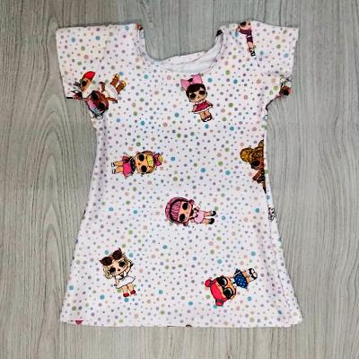 Vestido Infantil Estampado | Pingo de Gente