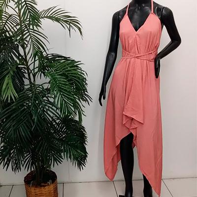 Vestido De Bico Color | La Toda Bella