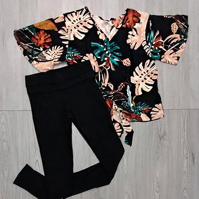 Conjunto Calça e Blusa | Moça Bonita