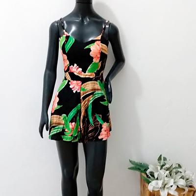Macaquinho Estampado Alcinha | GL Moda e Fashion