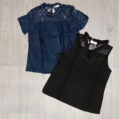 Blusas Renda Color | Belíssima Modas