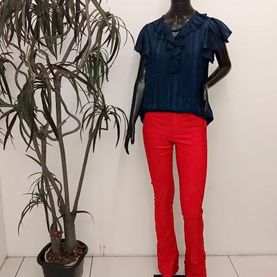 Calça Feminina Color | Ellegance Moda Feminina