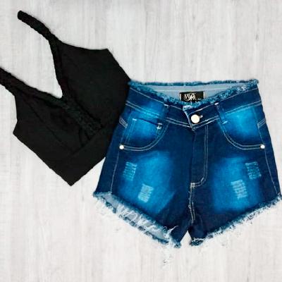 Conjunto Cropped e Short | Mogigi Moda
