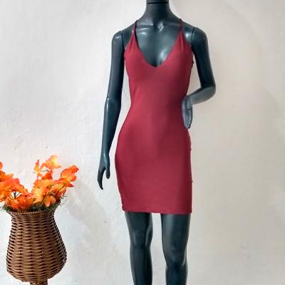 Vestido Curto Marsala | Misamores