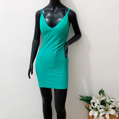 Vestido Curto Color | Jully Modas