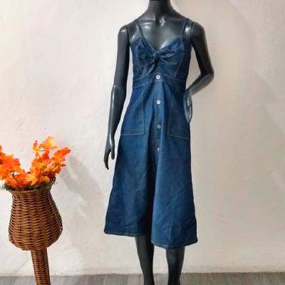Vestido Longo Jeans | Linda Flor