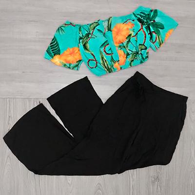 Calça Pantalona Black | WA Modas