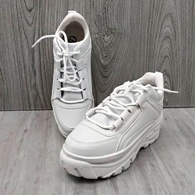 Tênis Plataforma White | Rafanda Calçados