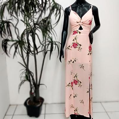 Vestido Longo Estampado | Cecília Castro