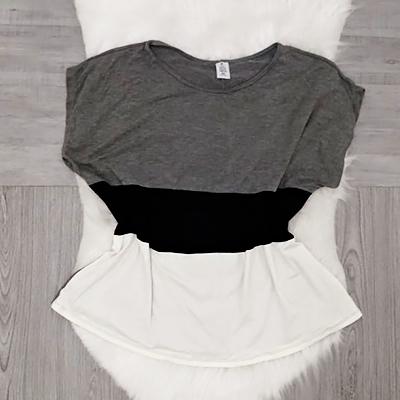 Blusa Feminina Tricolor | B Look