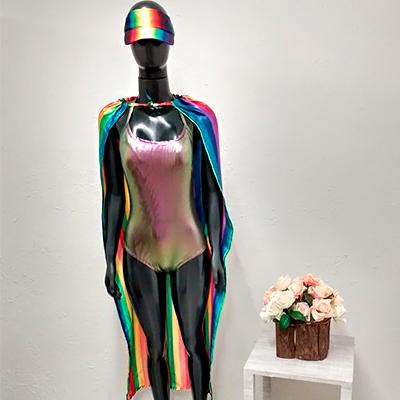 Fantasia Carnaval Color | Oconela Artesanato