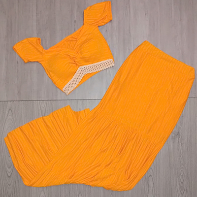Conjunto Saia e Cropped | Fashion Blessed