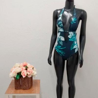 Maiô Estampado Flowers | Sagit Sarcelle