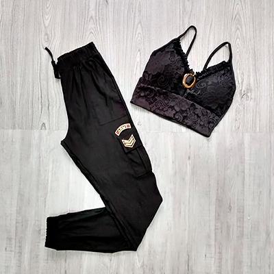 Conjunto Cropped e Calça | Juju Modas