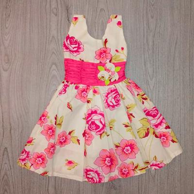 Vestido Infantil Florido | Rosa de Saron Infantil